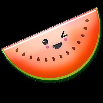 Kawaii Food, Kawaii, Face, Emoji, Cute, Fruit