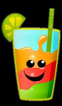Kawaii Food, Kawaii, Face, Emoji, Cute, Fruit Drink