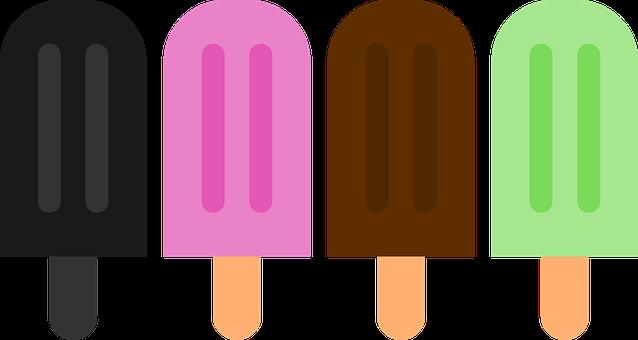 Popsicle, Icon, Ice Cream, Minimalist, Symbol, Fruit