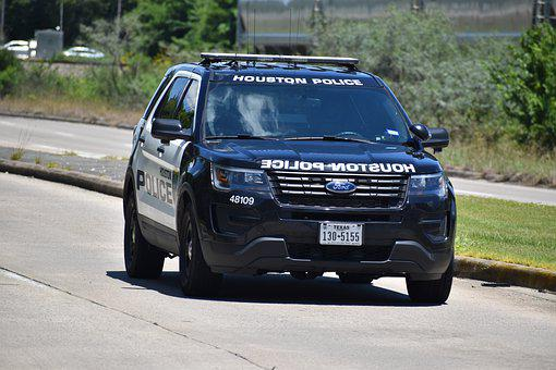 Police, Houston Police, Texas, Hpd, Suv, Ford, 911