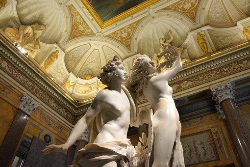 Sculpture, Renaissance, Antique, Old, Baroque, Decor