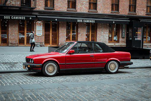 Car, New York, Car In New York, Classic Car, Bmw, Ny