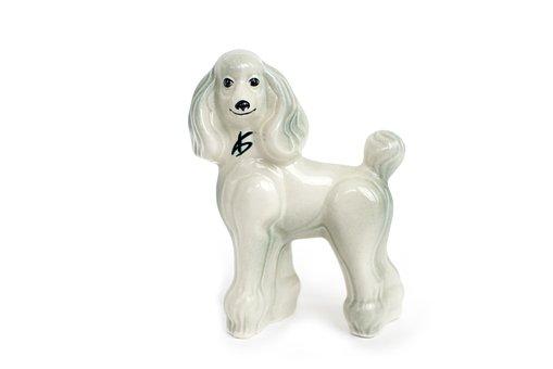 Figurine, Dog, Poodle, Porcelain Dog, Animals, Gift