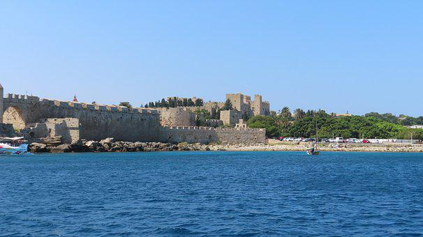 Rhodes, Grand Master's Palace, Greece, Mandraki