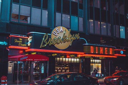 New York, New York Restaurant, Street