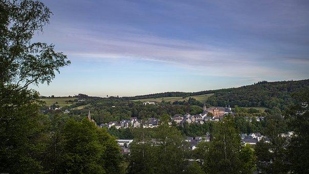 Bad-berleburg, Castle, Siegen-wittgenstein, Germany