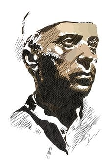 Nehru, Jawaharlal, Indian, India, Portrait, Prime