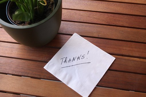 Thanks, Note, Post, Message, Gratitude, Text