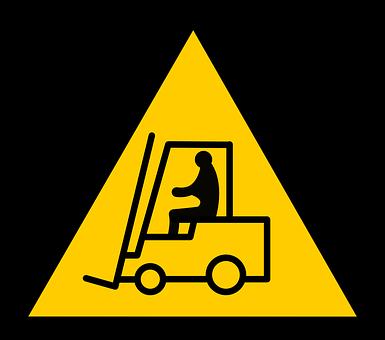 Equipment, Forklift, Truck, Signs, Safety, Symbols