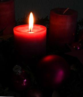 Advent Wreath, Advent, Christmas, Candle, Flame