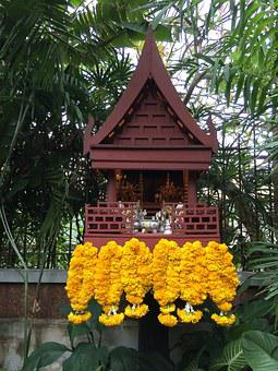 Altar, Thailand, Religion, Thai, Jim Thompson
