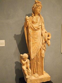 Statue, Woman, Art, Greek, Ancient, Greece, Style
