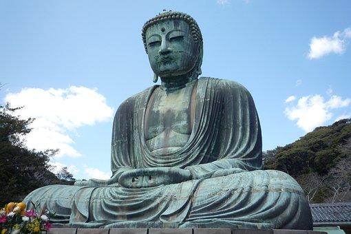 Buddha, Japan, Asia, Japanese, Statue, Sculpture