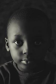 Kids, Black And White, Photography, Child, Black