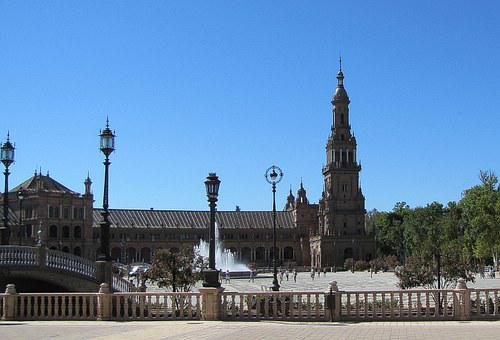 Sevilla, Children's Spanish, Church, Tower