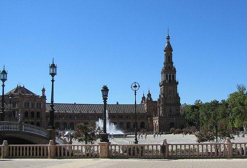 Sevilla, Children's Spanish, Church, Tower