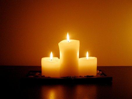 Meditation, Candlelight, Dim, Flame, Fire, Night, Dark
