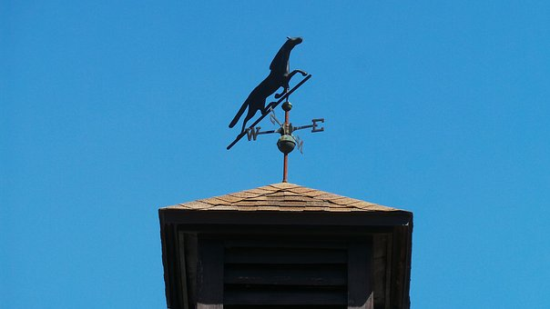 Wind, Black, Weather, Vane, Direction, Sky, South, West