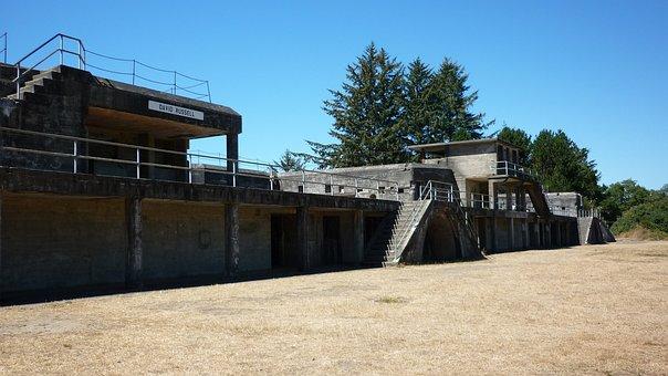 Fort, Abandoned, Oregon, Historical, Fortress, Defense