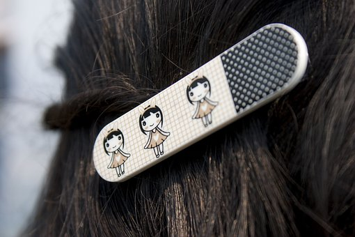 Hair, Hair Clip, Clip, Female, Girl, Hairstyle, Style