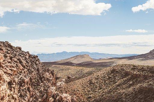 Hiking, Climb, Wilderness, Desert, Nature, Landscape