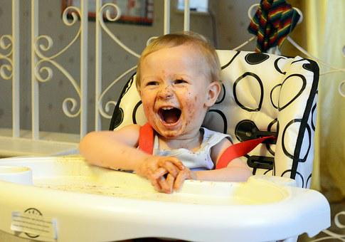 Child, Boy, Toddler, Music, Laughing, Laughter, Happy