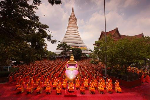 Ceremony, Supreme Patriarch, Buddhists, Patriarch