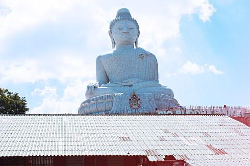 Big Buddha, Thailand, Phuket, Buddhism, Statue, Big