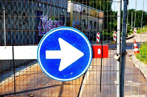 Arrow, Traffic Sign, Road Sign, One Way, Traffic