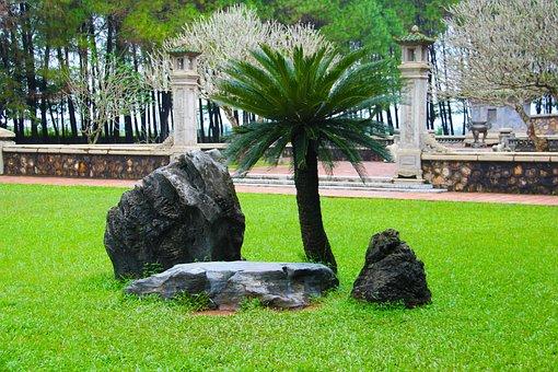 Rock Garden, Japanese, Zen, Garden, Rock, Stone