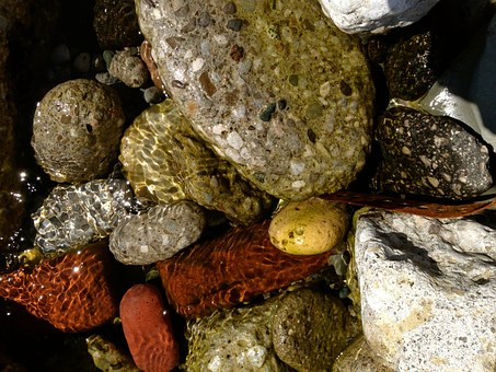 Water, Rocks, Stone, Landscape, Natural, Relaxation