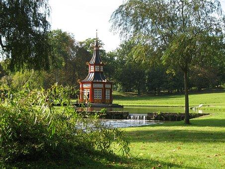 Chinese Pagoda, Serenity, Cascade, Zen, Leisure Park