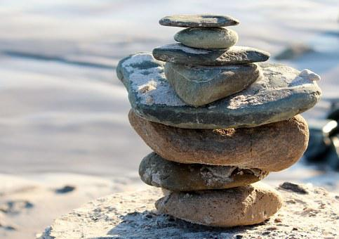 Stones, Tower, Rest, Force, Meditation, Contemplation