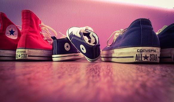 Shoes, Converse, Baby, Style, Cute, Young, Footwear