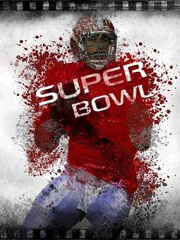 Football Player, Man, Human, Sport, Event, Super Bowl