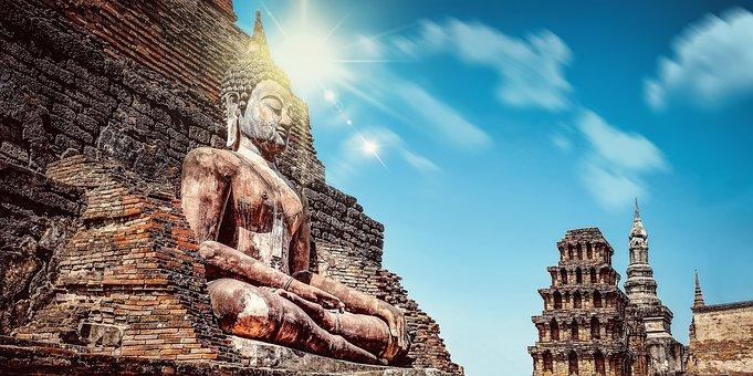 Mystery, Religion, Buddhism, Buddha, The Statue Of