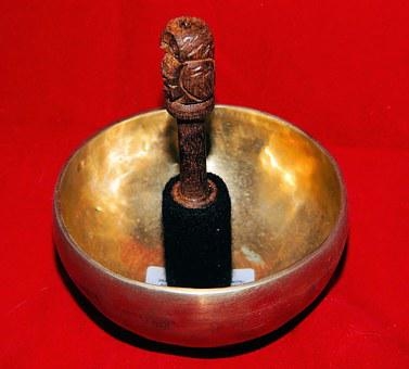Singing Bowl, Tibet, Chakra, Meditation, Brass