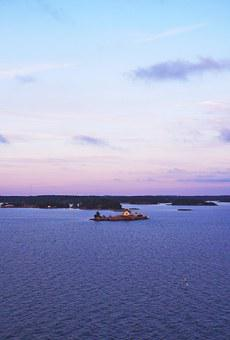 Sea, Landscape, Water, Nature, Abendstimmung, Sunset