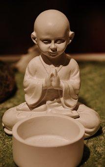 Buddha, Meditation, Heavenly, Religion, Winged, Icon