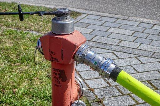 Hydrant, Fire, Pressure, Hose, Road, Tube, Delete