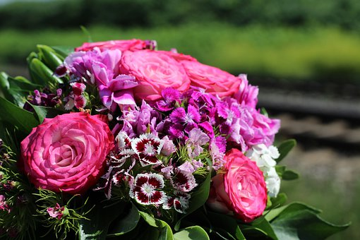 Floral Bouquet, Railway, Lost Love