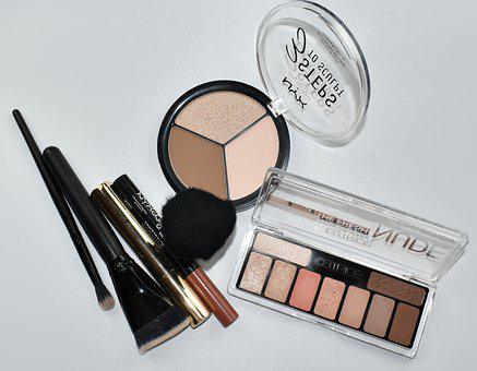 Cosmetics, Makeup, Brush, Application, Beauty Products