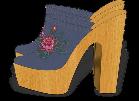 Shoes, Illustration, Fashion, Woman, Beautiful, Ballad