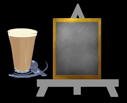 Coffee, Cafe, Sign, Stimulant, Beverage, Elevenses