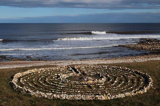 Labyrinth, Meditation, Circle, Contemplation, Reality