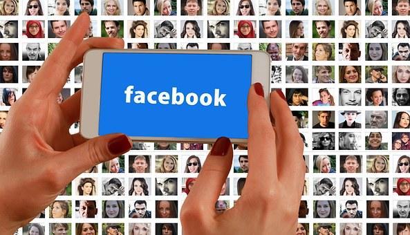 Hands, Smartphone, Facebook, Social Media, Faces