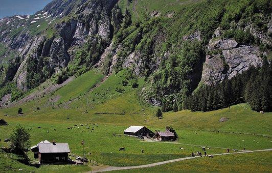 The Region Of Santis, Hat, Alpine Village
