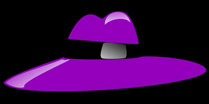 Pimp, Hat, Purple, Profession