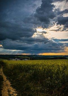 Landscape, Sky, Cloud, Sunset, Countryside, Nature