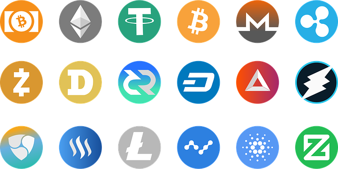 Image, Set, Interface, Pictogram, Currency, Criptomoeda
